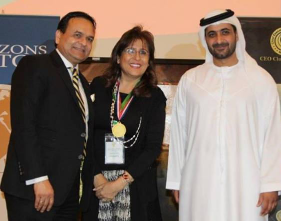 Roxana Jaffer recognized for her work in U.N. 's Sustainability Development Goals | Global Compact Network UAE
