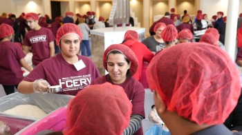 Ismaili Community in Atlanta prepares 80,000 meals to fight hunger