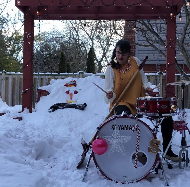 What Canadian Drummers Do in The Winter - Sarah Thawer