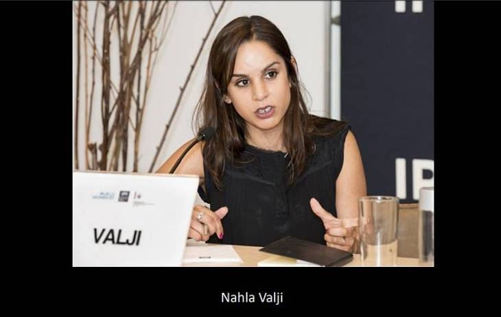 Nahla Valji honoured for Significant Contributions to the field of International Gender Justice
