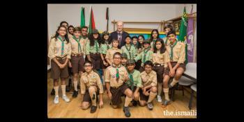 Ismaili Imamat reception with Prince Amyn Aga Khan in Portugal