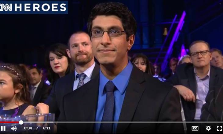 Amber Tamblyn introduces CNN Hero Samir Lakhani