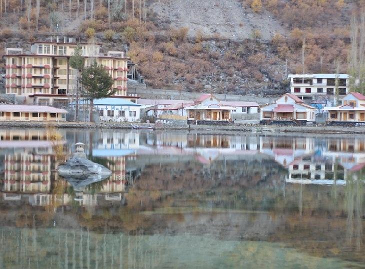 Lower Kachura Lake within Shangrila Resort.