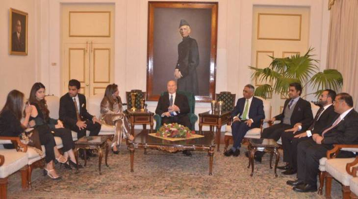 Governor of Sindh hosts reception in honour of His Highness the Aga Khan