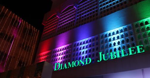 His Highness Aga Khan's Diamond Jubilee – Light decorations in Karachi