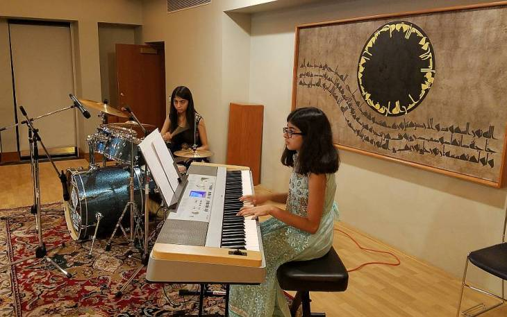 Young Musical Performers: Zahra Virani and Misbah Aziz