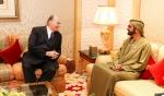 His Highness the Aga Khan meets with His Highness Sheikh Mohammed bin Rashid in Dubai