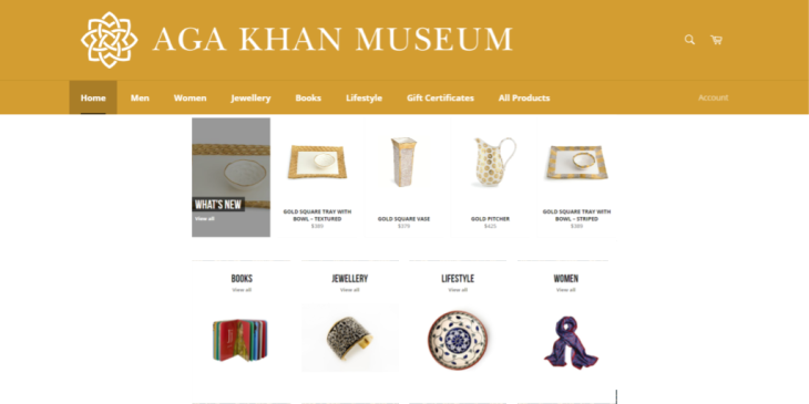 Have You Visited Aga Khan Museum Shop Online?
