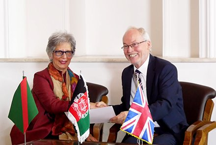 More than million Afghans in six provinces to benefit from the UK & Aga Khan Foundation program