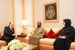 Ruler of Dubai, Mohammed bin Rashid receives Aga Khan