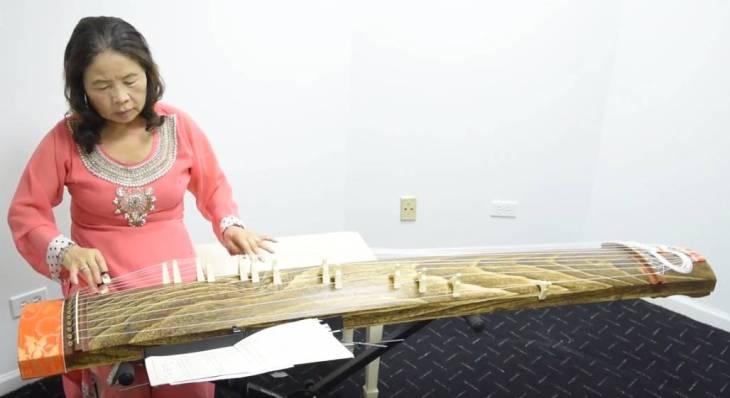 Seema Mithani (Chieko) - Japanese-Ismaili Koto (Instrument) Player