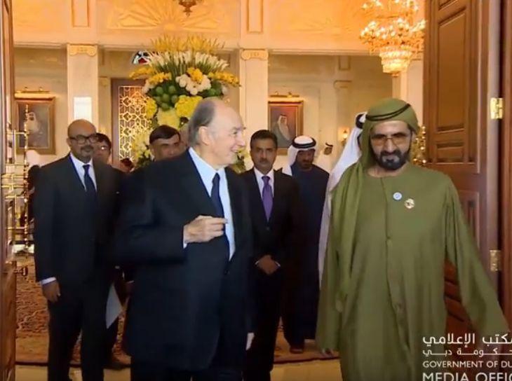 Mohammed bin Rashid receives His Highness the Aga Khan, Imam of Nizari Ismailism (Video)