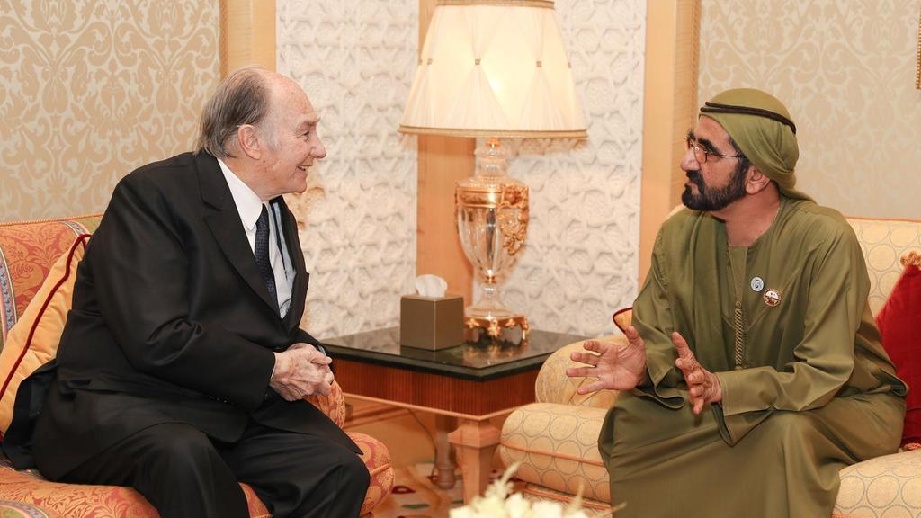 Spiritual Leader His Highness the Aga Khan meets Sheikh Mohammed in Dubai on Diamond Jubilee tour - The National UAE