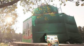 Aga Khan Trust for Culture & Archaeological Survey of India to Renovate Subz Burj Tomb