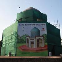 Timurid art on Delhi's little known Subz Burj to get a revamp