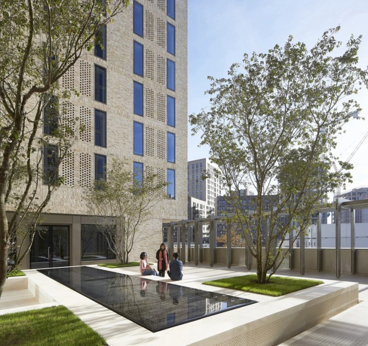 AKDN's Victoria Hall in King's Cross wins 2017 Residential Architect Design Award