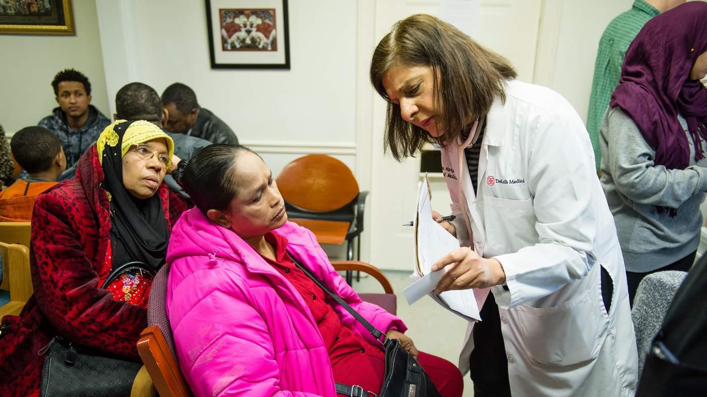 Atlanta doctor perseveres through war, illness and a mass shooting