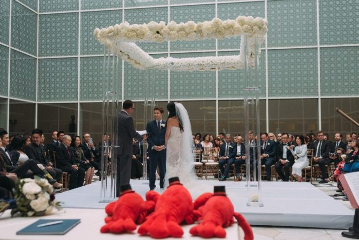 Real Weddings: Multicultural celebration at the Aga Khan Museum