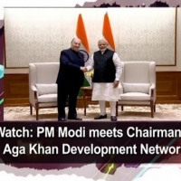 Watch PM Modi meets Chairman of Aga Khan Development Network