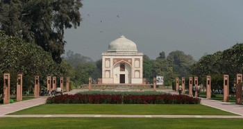 Delhi's 'lost' Mughal garden reopens as public park