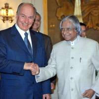 Aga Khan IV, Imam of the Shia Imami Ismaili Muslims, is headed to India