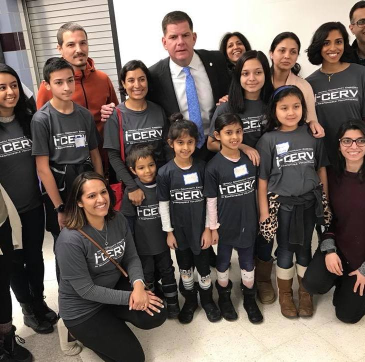 Award-winning i-CERV, Boston Jamatkhana Volunteers participate in commemorating Martin Luther King Jr. Day