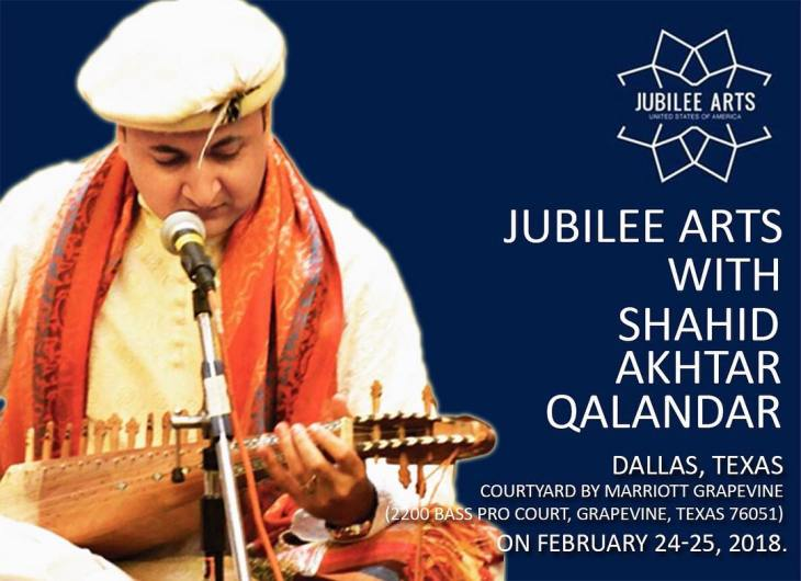 Jubilee Arts with Shahid Akhtar Qalandar - Dallas, Texas