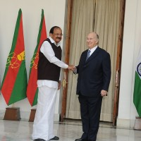 His Highness Prince Karim Aga Khan's meeting with Vice President of India, Venkaiah Naidu