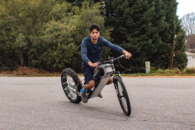 Electric Entrepreneur: Shan Roy - College freshman creates motorcycles from scratch