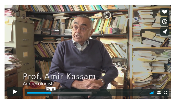 Professor Amir Kassam features in the Groundswell film about the new paradigm of farming