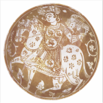 Bowl, Egypt, 12th century. Ceramic, lustre-painted. Courtesy of The American University in Cairo Press.