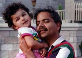 Dean with daughter Shahla