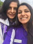 Dr Harjee and daughter Shahla