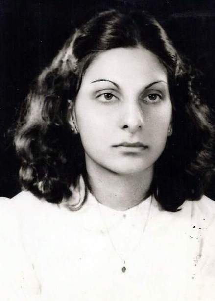 Dr Harjee in her younger days