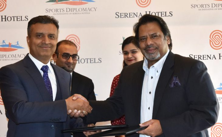 World Renowned Pakistani Squash Player Jahangir Khan becomes Brand Ambassador for Serena's Sports Diplomacy Initiative