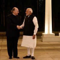 His Highness Prince Karim Aga Khan calls on PM Narendra Modi in New Delhi