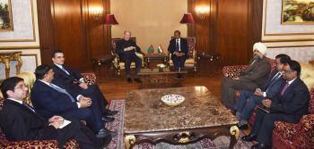 Aga Khan meets Governor of Telangana