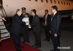 His Highness Prince Karim Aga Khan arrives in India