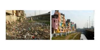 Through an initiative by the Aga Khan Trust for Culture - The magical transformation of a historic Delhi neighbourhood