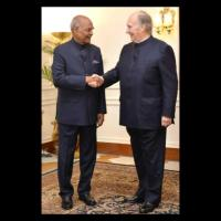 His Highness Prince Karim Aga Khan called on the President of India, Shri Ram Nath Kovind (Video)