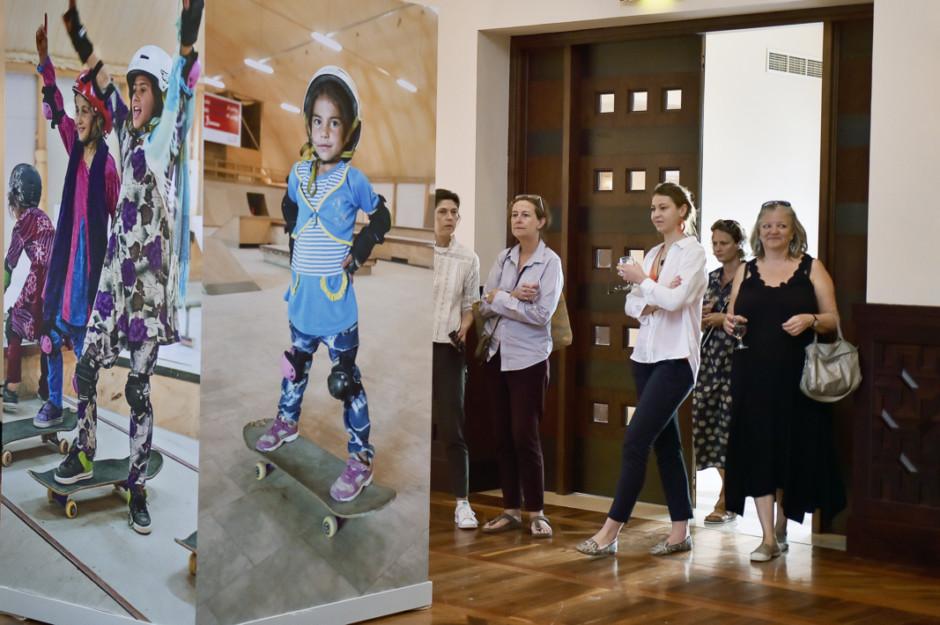 Meet the 'Skate Girls of Kabul' through photo exhibition at the Ismaili Centre Dubai   Gulf News