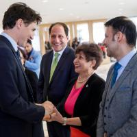 Photos: Prime Minister Trudeau celebrates Navroz at the Ismaili Centre in Toronto
