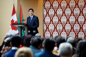 Prime Minister Trudeau delivers remarks for Navroz at the Ismaili Centre in Toronto