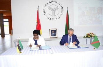 Mozambique: Minister of Education signs MoU with Aga Khan Development Network