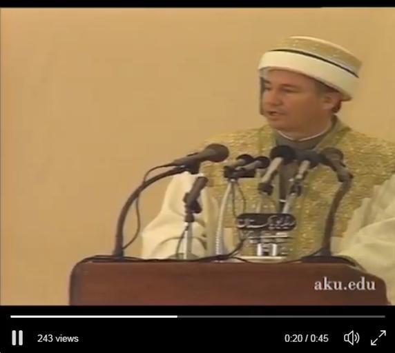 History: 1st Aga Khan University Convocation
