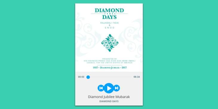 "Popular Music Composer ENOO and Rajabali Fidai's ""Diamond Days"" featured by Ismaili Institutions"
