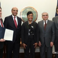 Mayor of Atlanta Welcomes His Highness the Aga Khan