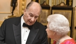 Her Majesty Queen Elizabeth II Celebrates Diamond Jubilee of His Highness the Aga Khan
