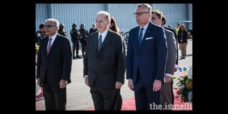 Mawlana Hazar Imam arrives in the United States | the.Ismaili