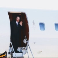 Video: Mawlana Hazar Imam arrives in the United States